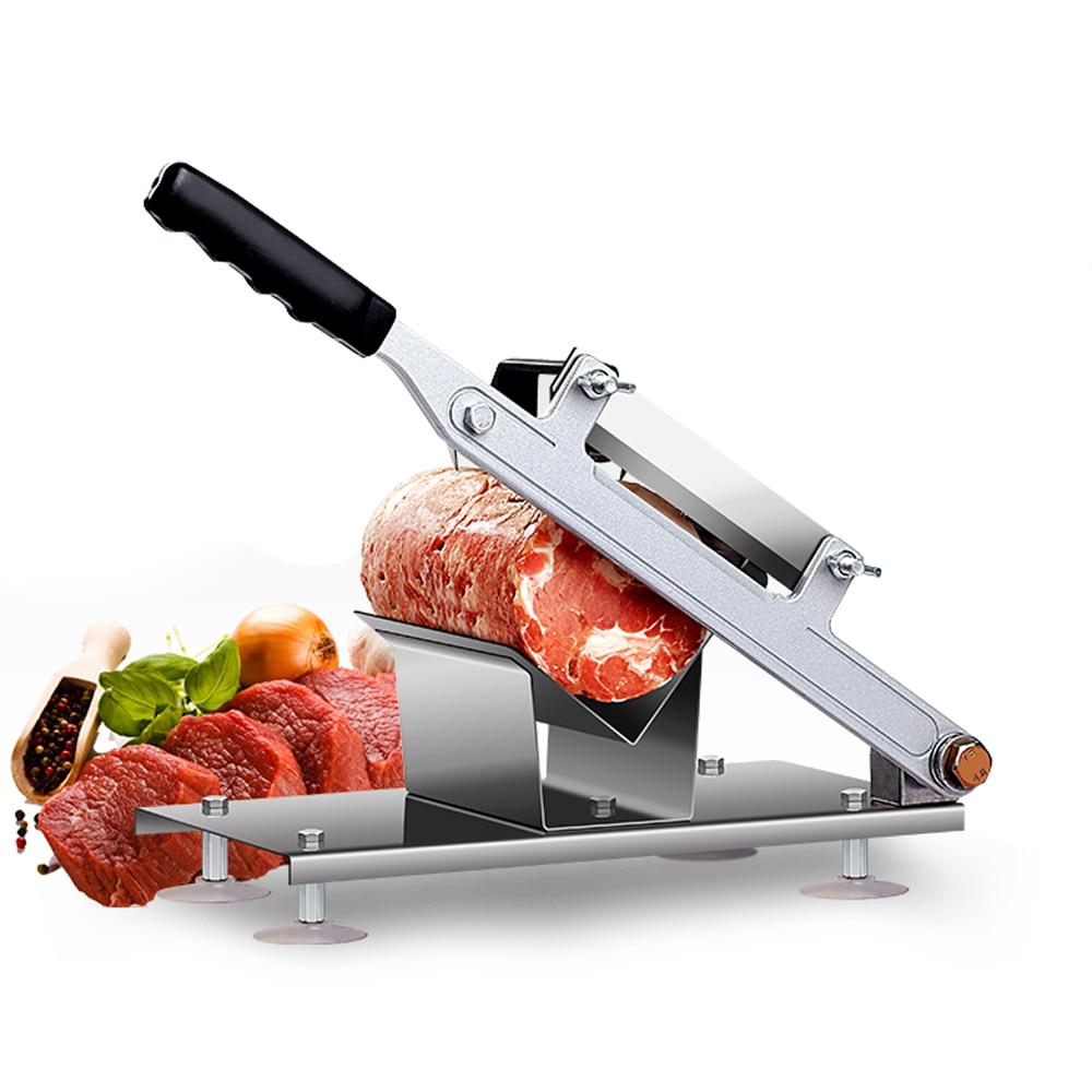 Commercial Household Manual Meat Slicer Lamb Beef Meatloaf Frozen ...