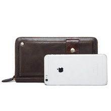 MARRANT Genuine Leather Man Long Wallet
