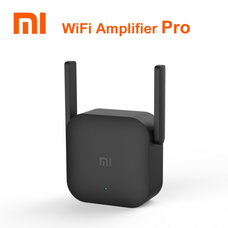 Original Xiaomi Mi WiFi Amplifier Pro 300Mbps Amplificador Repeater Signal Cover Extender Roteador Wireless Router Repetidor link mi ex29 hdmi signal amplifier repeater