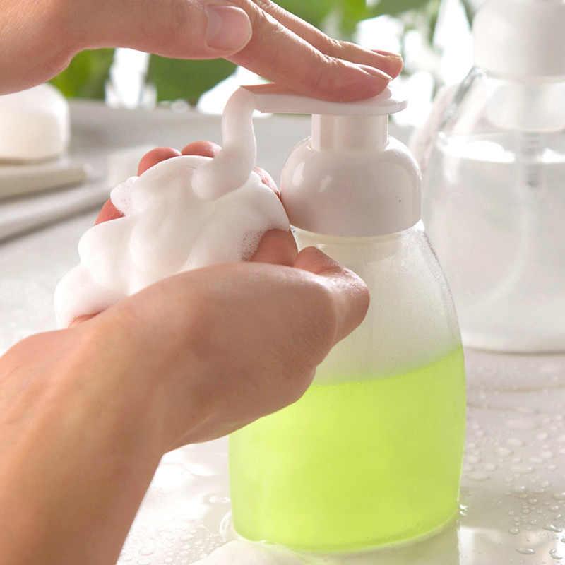 30/60/100/150/300 ml butelka z pianki przezroczystej mydło w płynie bita śmietana punktów butelkowania szampon balsam żel pod prysznic z pianki butelki z pompką