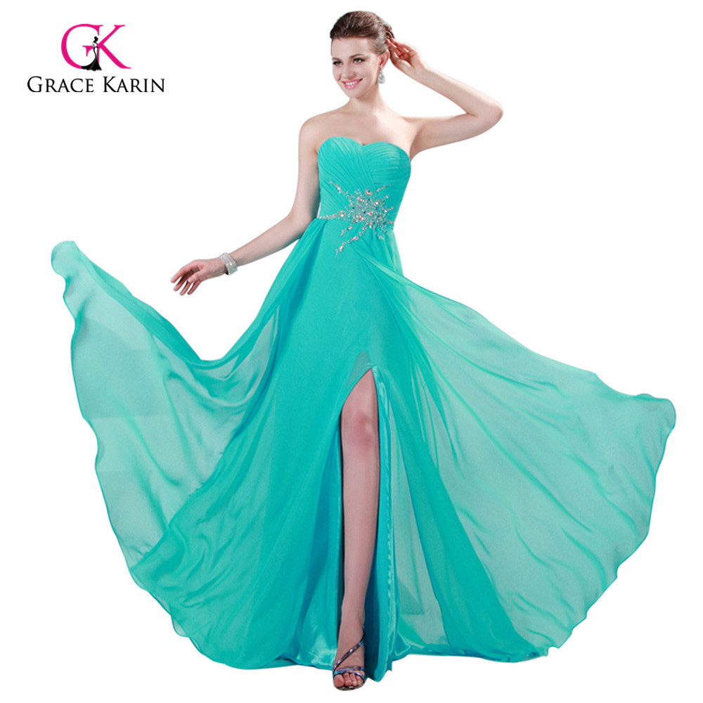 ộ_ộ ༽Fast Delivery Evening Dresses 2018 Grace Karin Strapless ...