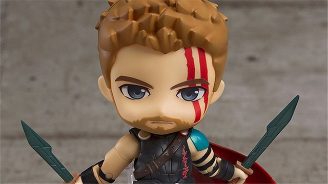 Nendoroid Thor 3 Ragnarok Avengers Super hero Thor 863 PVC Action Figures Collectible Model Kids Toys Doll 10cm 4