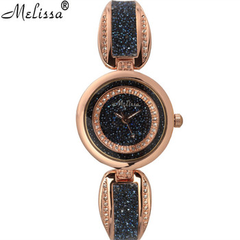 Melissa Brand Fantasy Women Jewelry Watches BlingBling Starry Night Stars Bangle Watch Bracelet Vintage Wristwatch Quartz Montre