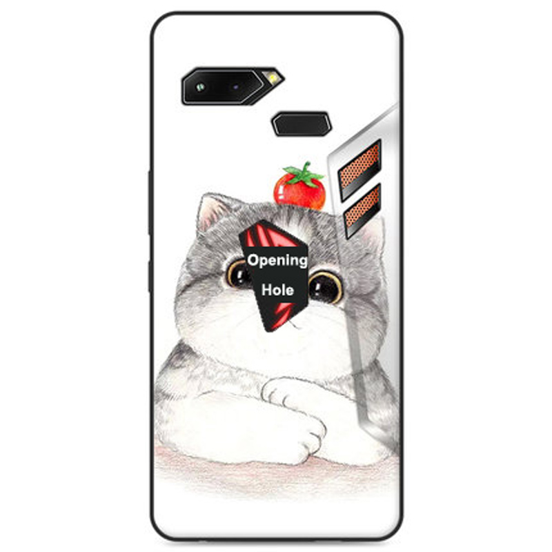 Cases For Asus ROG Phone Case TPU Soft Slim Silicon Rog Gaming Phone Lite Cover Bumper Shockproof ZS600KL Protective Casings