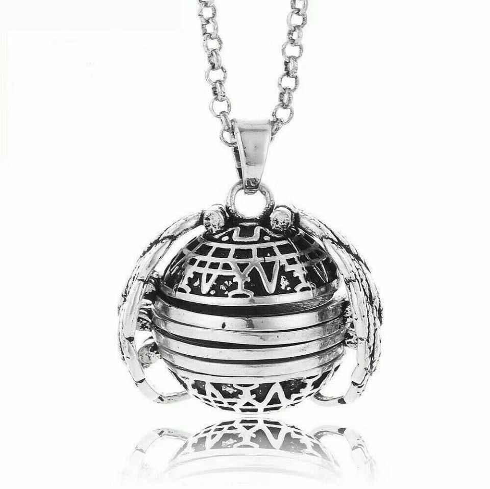 2019 Новый Magic 4 фото подвеска памятный, Подвесной Ожерелье с медальоном Крылья Ангела ожерелье с кулоном модные альбомная коробка Цепочки и ожерелья s ABH999
