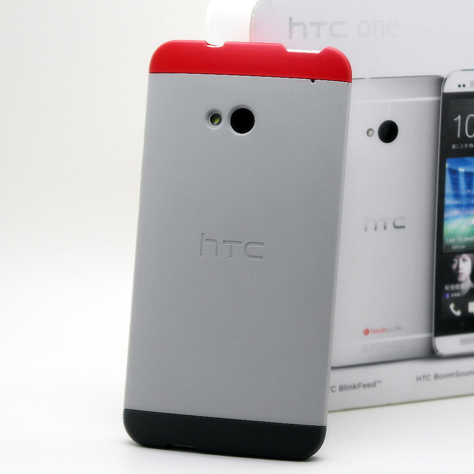 bilder für Original Double Dip Fall Für HTC EINS M7 Schutzhülle Mobile Handy 3 Drei Farben 1 Einzelverkaufs-satz