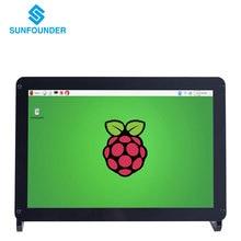 SunFounder 10.1 Pulgadas IPS HDMI Monitor 1280*800 HD LCD Pantalla de Visualización de Audio con el Caso y altavoz para Raspberry Pi 3,2 Modelo B + Kano