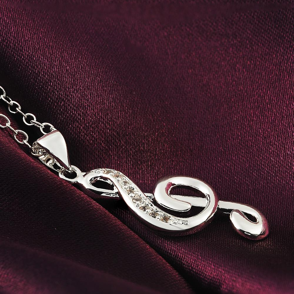 Ny forsølvet smykker pige favorit julegave kreative dejlige indlagt - Mode smykker - Foto 3