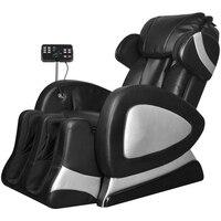 Онлайн тренажерный зал магазин CB18392 Электрический стул массажа искусственной кожи с супер Экран черный