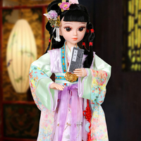 Princess Anna 1/3 60cm sd/bjd doll Chinese classic designed opera drama Twelve Ladies of Jinling A Dream in Red Mansions