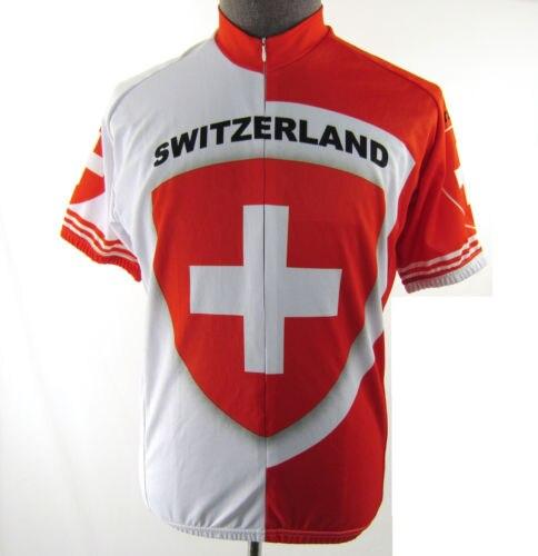 874f479aef Aliexpress.com: Compre 2018 Suíça equipe de Ciclismo jersey shorts da  bicicleta respirável Ropa ciclismo MTB wear mens uniforme de ciclismo de  confiança ...
