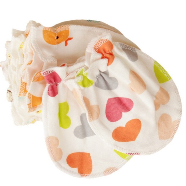 613cbfefc63a Newborn Baby Mittens Cotton Anti Scratching Baby Gloves For 0 6 ...