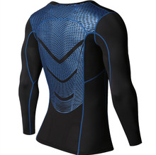 MMA Long Sleeve Quick Dry Compression Shirt Long Sleeves Train Mma Shorts Fitness Clothing Print Bodybuild Crossfit