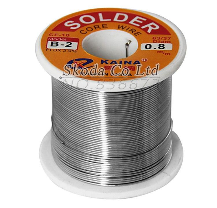 Free shipping KAINA 0.6mm No-clean solder wire 350g 63/37 Rosin Core Solder Flux Soldering Welding  цены