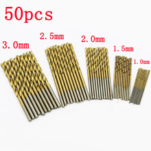 50pcs dremel tools ferramentas mini drill bit set for woodworking gereedschap wood drilling