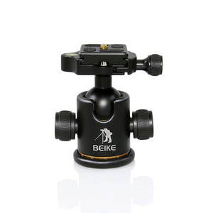 Image 3 - BEIKE Aluminum BK 03 Camera Tripod Ball Head with Quick Release Plate Pro Camera Tripod Max load to 8kg