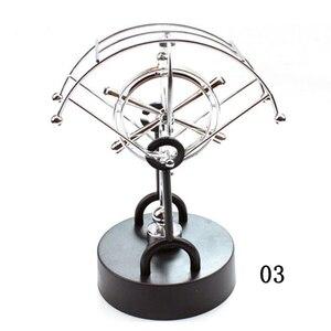 Image 5 - Newton Slinger/Permanente Bal Figurine Miniaturen Steel Balance Ball Woondecoratie Kind Natuurkunde Science Onderwijs Ornament