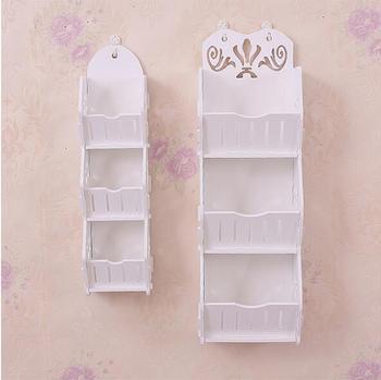 Estantes de baño soporte de pared estante de almacenamiento organizador  cosmético fácil de montar estantes de almacenamiento para el hogar estantes  ... 3dbe39006ce2