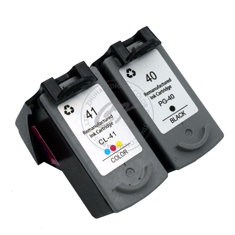все цены на CK 2x PG40 CL41 Compatible Ink Cartridge For Canon PG 40 CL 41 PIXMA iP1600 iP1200 iP1900 MX300 MX310 MP160 MP140 MP150 printers онлайн