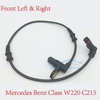 1 Pcs Front Left And Right ABS Wheel Speed Sensor For Mercedes Benz Class W220 C215