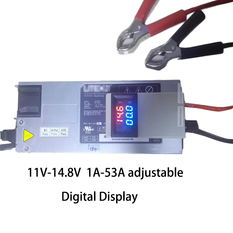Accessories & Parts Consumer Electronics Dc 48v 60v Input Step-down Output Adjustable 2.4v 15v 12v 50a Dc Fast Charger For Lto Lithium Titanate Battery Lifepo4 Charger