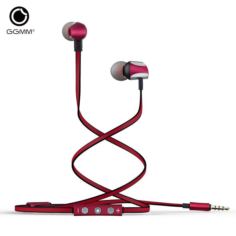 Original GGMM Cuckoo In Ear Earphone Dynamic HiFi Music Earphone Super Bass Stereo Three key Control