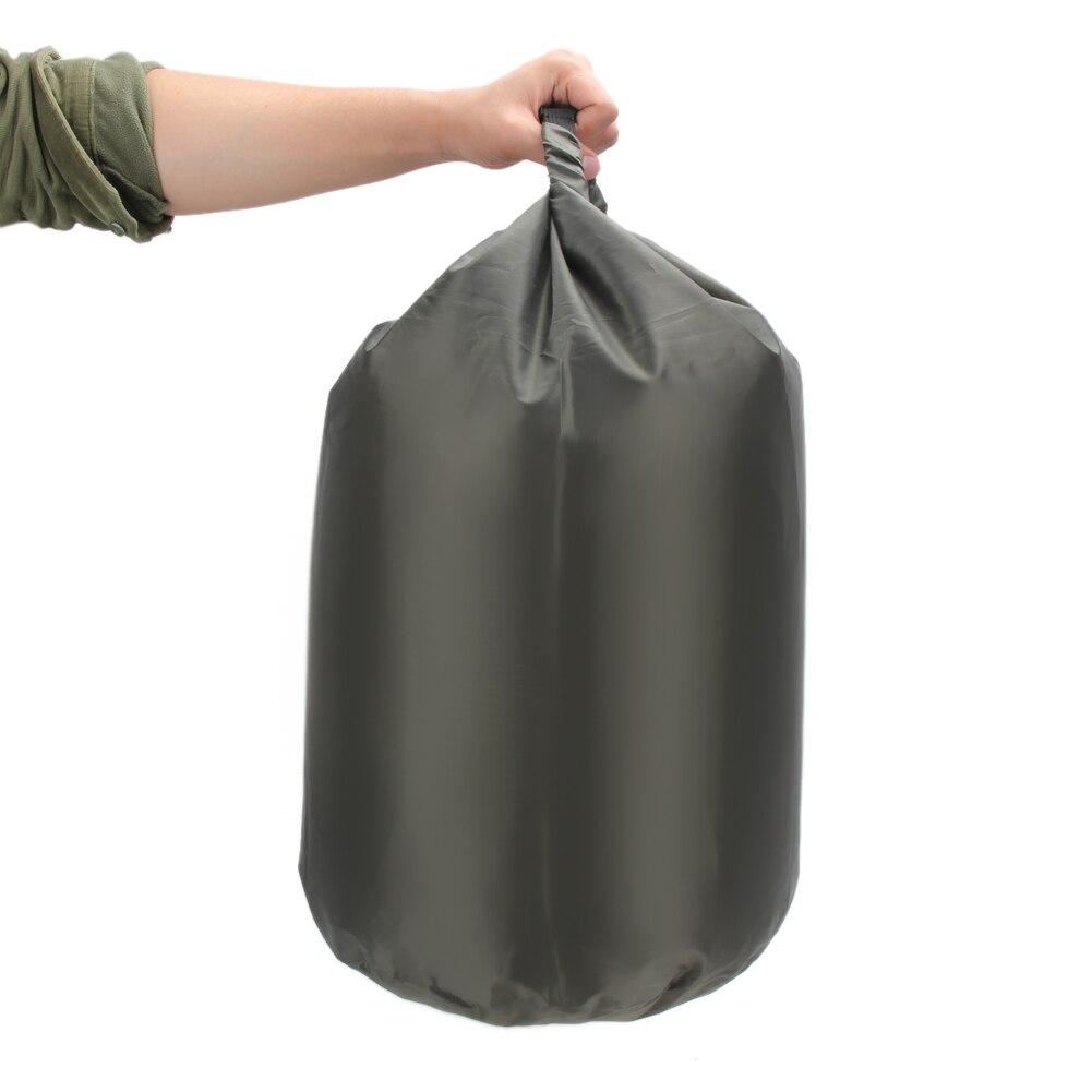 40L Waterproof Dry Bag Portable Storage Water Resistant Bag For Canoe Kayak River Trekking Camping Rafting Large Sports Bag