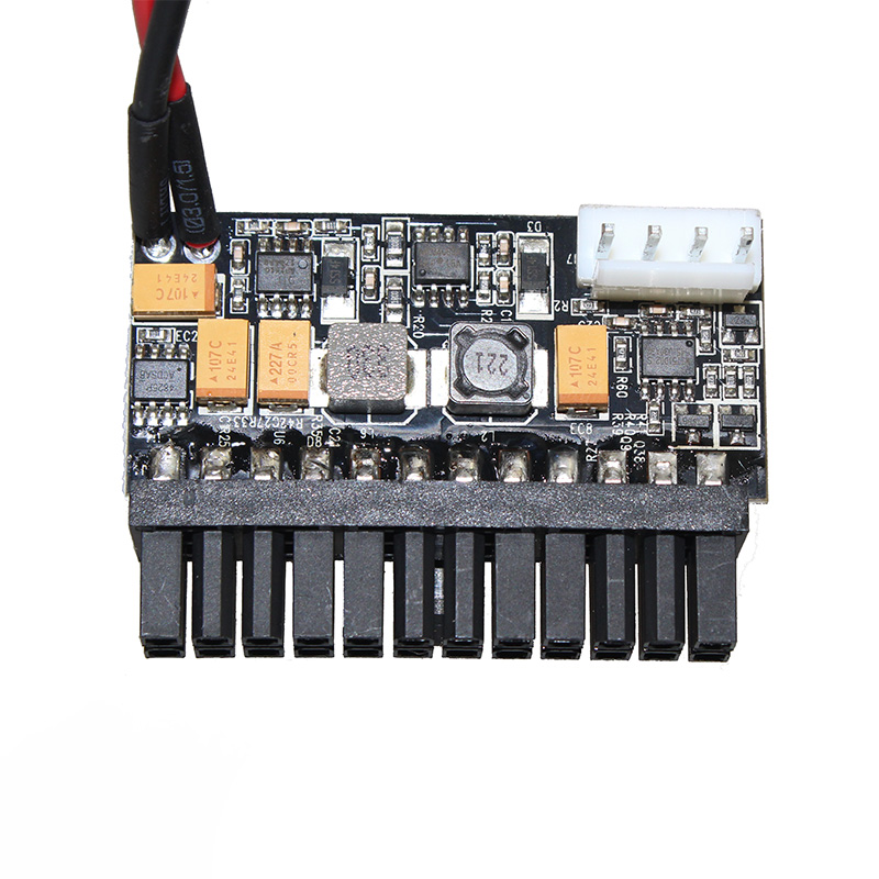 24Pin 12V DC Input 150W Output Realan Mini ITX Pico <font><b>PSU</b></font> DC <font><b>ATX</b></font> PC <font><b>Switch</b></font> DC-DC <font><b>ATX</b></font> Power Supply For Computer image