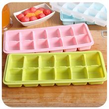 DIY food grade 12 compartment silica gel ice mold maker 24*10*3cm Free shipping