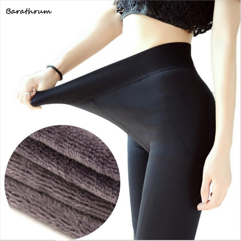Barathrum New Fashion Womens Autumn Winter High Elasticity And Good Quality Pants Thick Velvet Pants New Warm Leggings