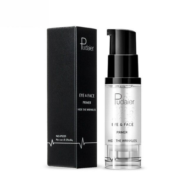 8ml Pudaier Makeup Brand Eyes Liquid Primer for Face Eye Moisturizer Brighten Base Eyeshadow Primer Gel Cosmetics Easy to Wear 2