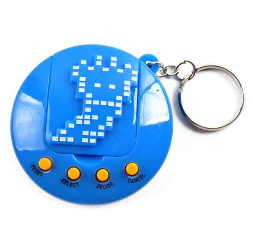 Mooistar 4033X 90S Nostalgic 49 Pets In One Virtual Cyber Pet Toy Funny Tamagotchi Gift Keyring