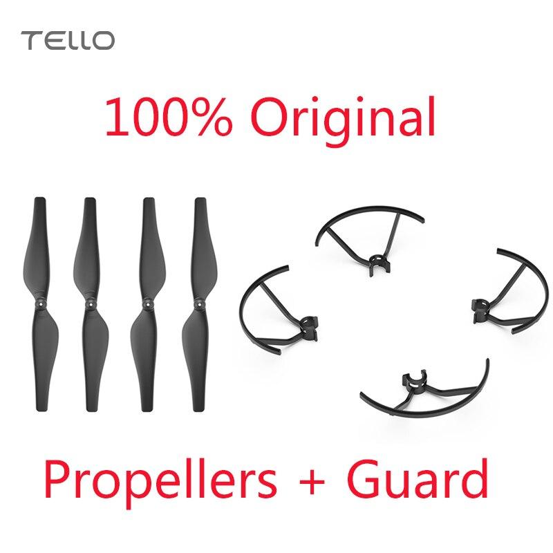 Original DJI Tello Quick-Release Propeller + Propeller Schutz Leicht und Langlebig Propeller Speziell für Tello