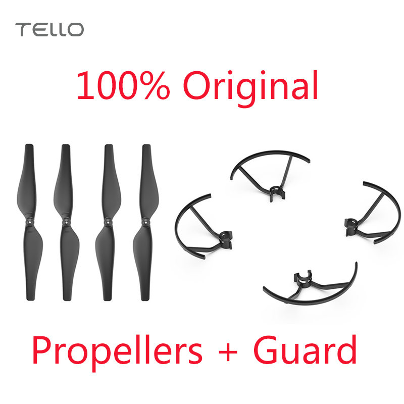 Original Tello Quick-Release Propellers + Propeller Guard Lightweight And Durable Propellers Specially Designed For DJI Tello