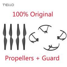기존 tello 퀵 릴리스 프로펠러 + 프로펠러 가드 dji tello 용으로 특별히 설계된 경량 및 내구성 프로펠러