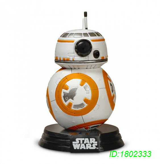 Episode VII Pop Star Wars,  Pop BB-8, Bobble-Head Figures, 3.75-Inch Freeshiping