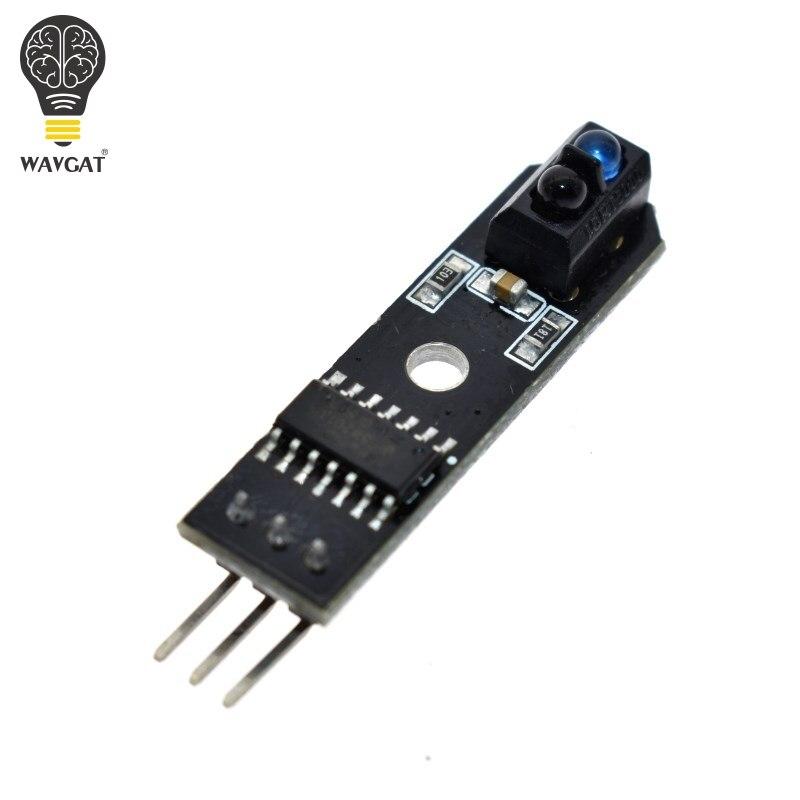 Wavgat tcrt5000 ir linha infravermelha seguidor da trilha sensor tcrt5000l obstáculo evitanc para arduino avr braço pic dc 5v