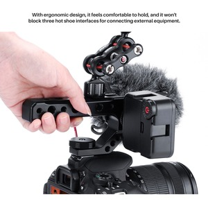 Image 5 - UURig  R005 Camera Universal Cold Shoe Top Handle Hand Grip Rig External Monitor Microphone Fill Light for Nikon Canon Sony DSLR