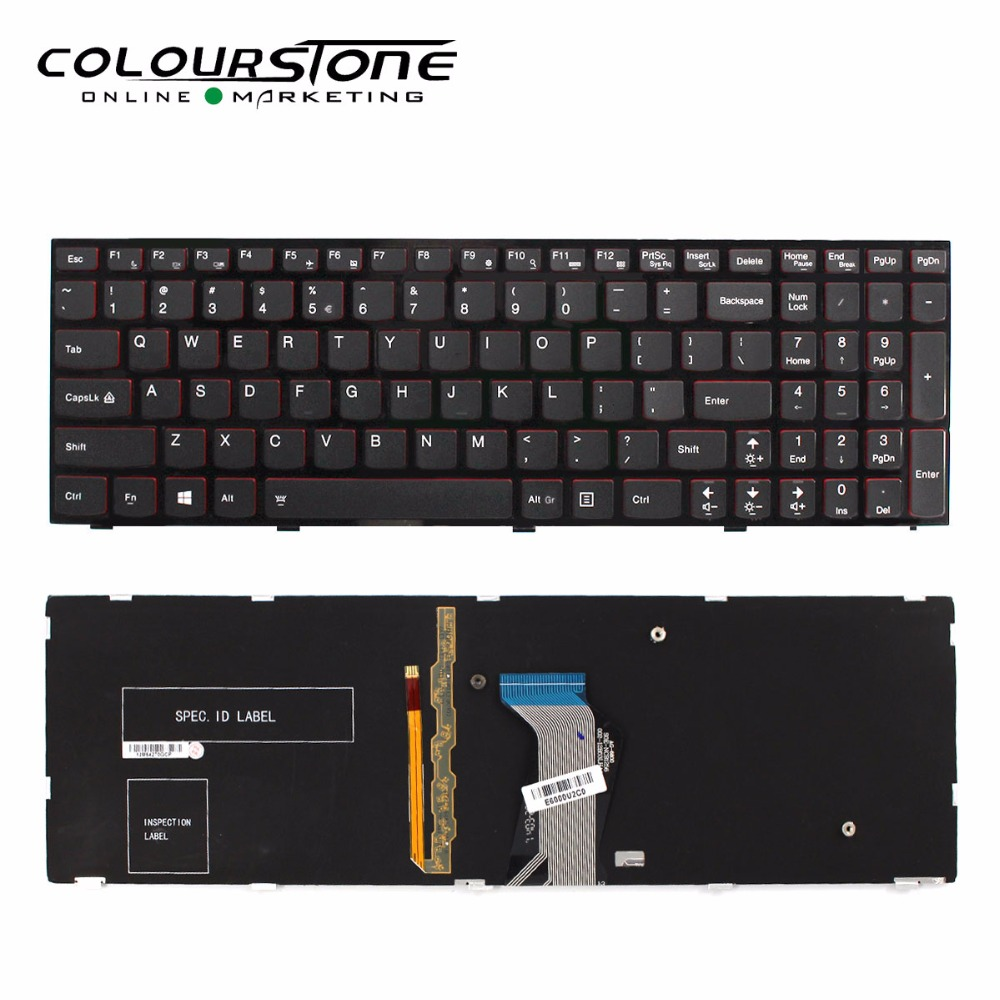 купить NEW US Backlit Laptop keyboard for LENOVO Ideapad Y500 Y510P US Backlit laptop keyboard по цене 2651.9 рублей