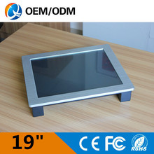 19 inch industrial panel pc industrial computer touch screen Resolution 1280×1024 pc with cpu intel D525 1.8GHz