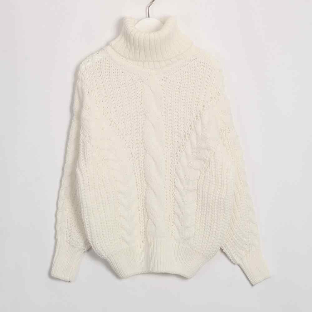 Wixra, женские свитера, 2019, осень, зима, Женская водолазка, повседневная, свободная, для девушек, Вязанный свитер, пуловеры, женские джемперы