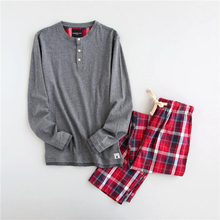 Plus größe 100% baumwolle pyjamas sets männer Frühling Herbst weichen männlichen langhülse Pyjamas casual pijama masculino pijama de hombre