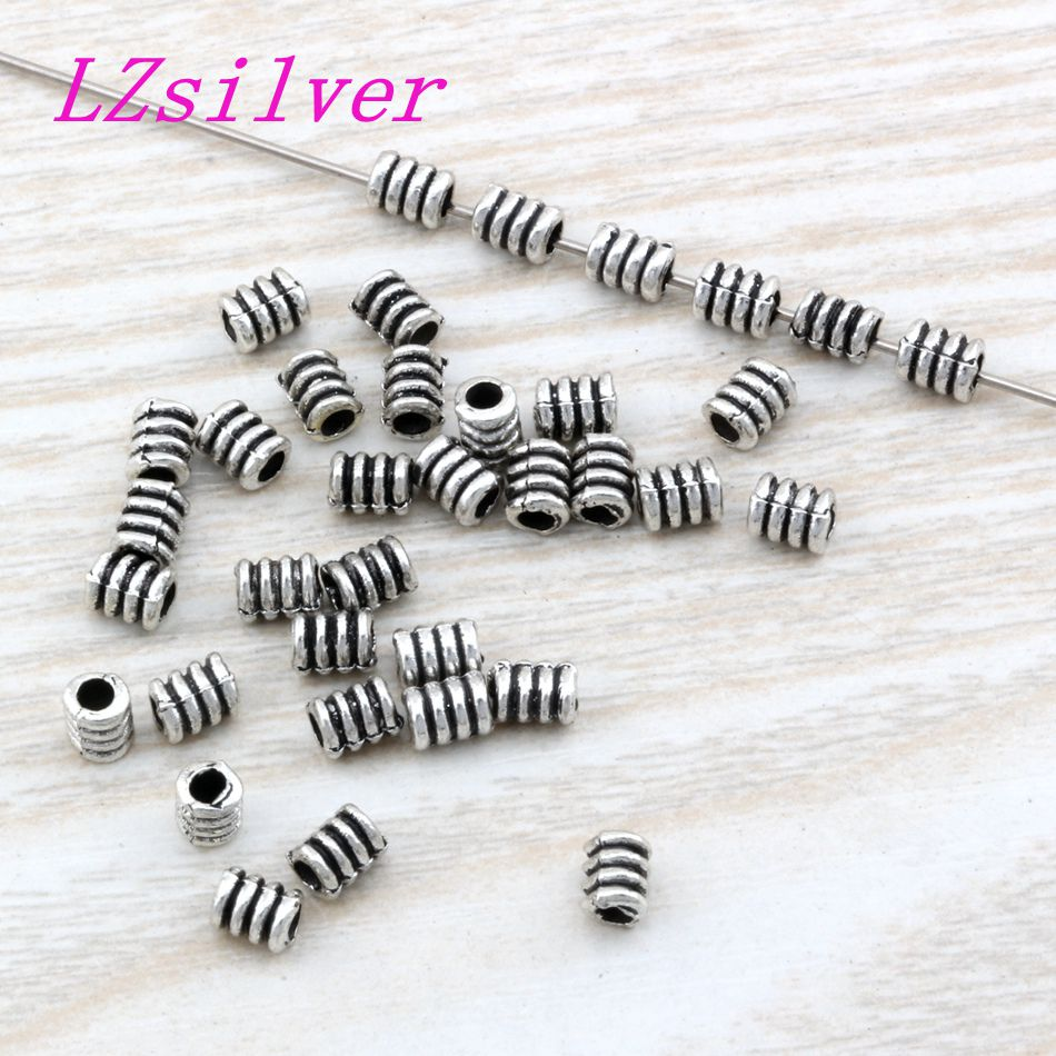 200 PCS Colorful Artful Rainbow Resin Spacer Beads Charms Findings 8mm