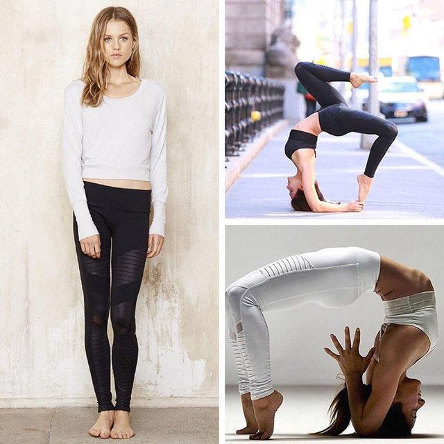 Flora M Women Elastic waistband Yoga pants