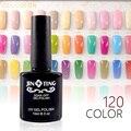 120 Colores de Uñas de Gel Polaco ULTRAVIOLETA Del Gel Soak-off de Larga duración LED UV Gel Color de Uñas Caliente Gel 10 ml/Pc-S04