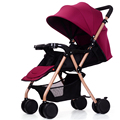 Hot Sell Baby Trolley Can Sit Can Lie Super Light Weight Portable Baby Carriage Folding Easy Baby Stroller High Landscape Pram