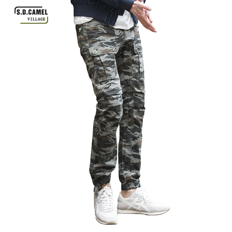 Men Military Camouflage Cuasual Pants Multi-pockets Trousers Plus Size 29-40 Cotton Camo Tactical Cargo Pants for Boys Joggers