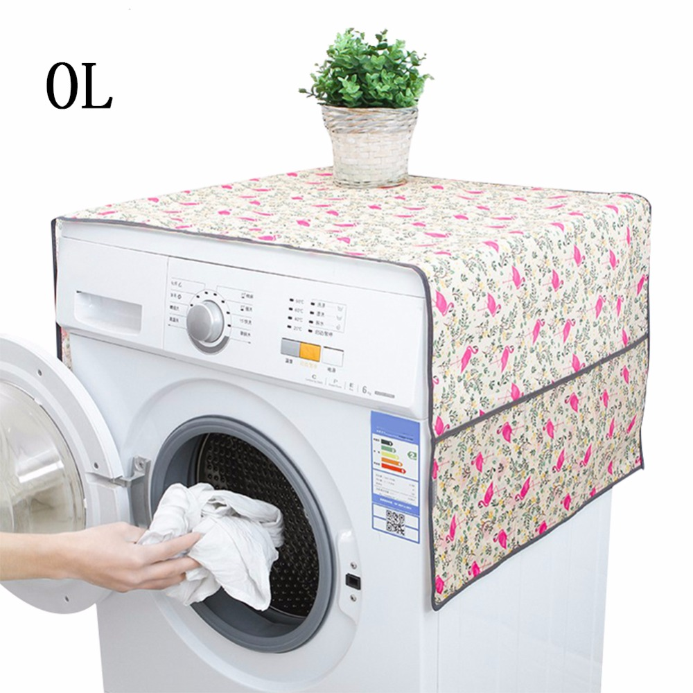 Household Washing Machine Covers Home Refrigerator Waterproof Cleaning Organizer Wholesa ...