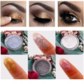 High Pigment Makeup Glitter Powder 24 Color Diamond Pearl Shimmer Eye Shadow Powder Eyes Face Body Highlighter