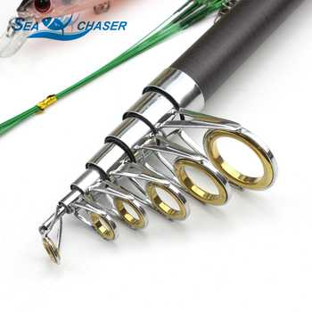 High Quality All fishing Telescopic Fishing Rod Reel Combo Set Full Kit Fishing Spinning Reel Pole Set Fish Line Lure Hook Bag